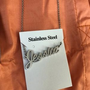 New JESSICA Stainless Steel Necklace 9""